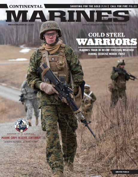 The Continental Marines Magazine №1 2016