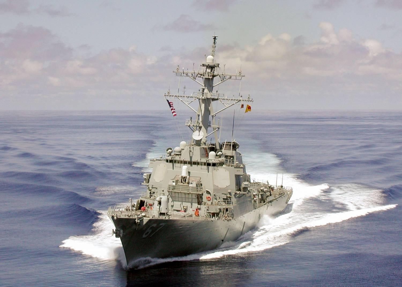 Ненашев назвал недружественным поход эсминца США в Черное море