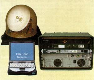 Комплект аппаратуры станции спутниковой связи TRM-1000